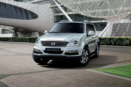 Rexton W Front angle low view