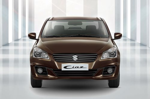 Full Front View of Ciaz