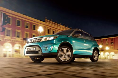 Vitara Front angle low view