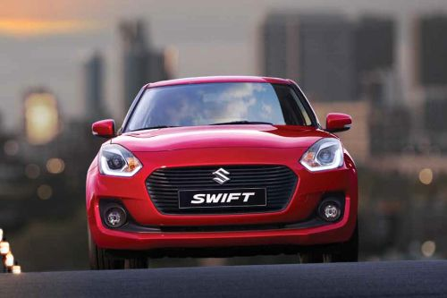Full Front View of Swift