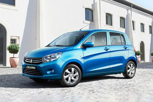 Celerio Front angle low view