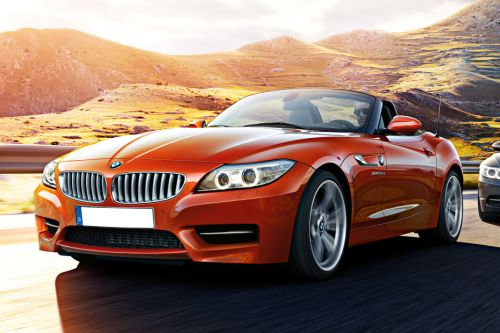 BMW Z4 Roadster Front Side View