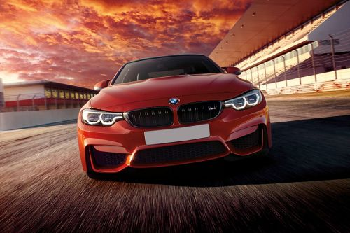Full Front View of M4 Coupe