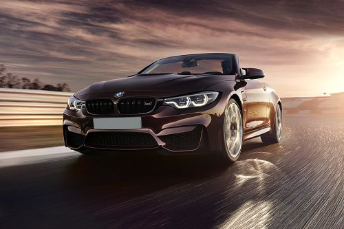 M4 Convertible Front angle low view