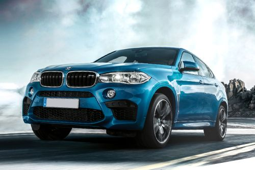 X6 M Front angle low view
