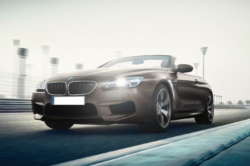 M6 Convertible Front angle low view