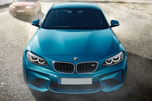 Full Front View of M2 Competition