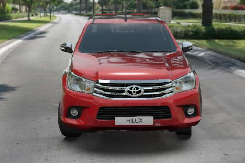 Full Front View of Hilux