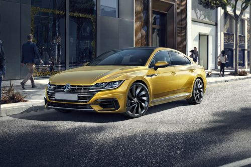 Arteon Front angle low view