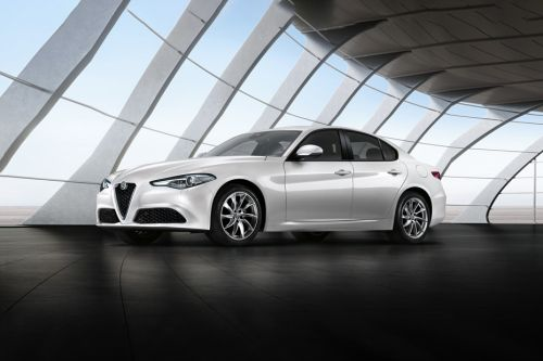 Giulia Front angle low view