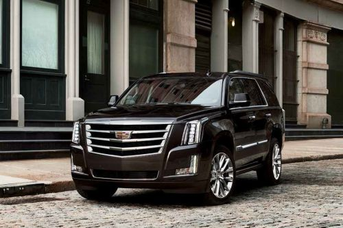 Escalade Front angle low view