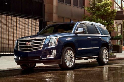 Cadillac Escalade Front Side View