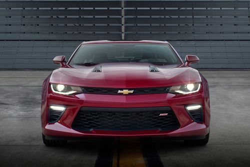 Full Front View of Camaro